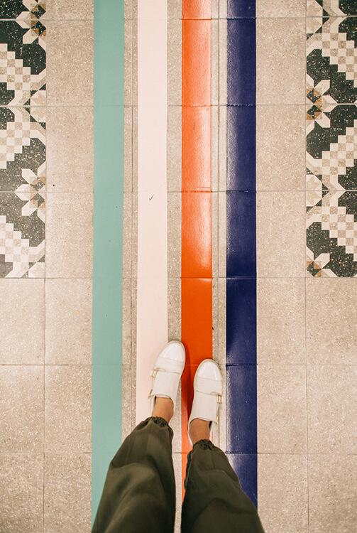 Líneas del suelo Alcampo Insayn Design
